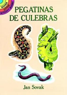 Pegatinas de Culebras (Realistic Snakes Stickers in Spanish) by Jan Sovak