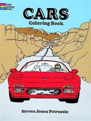 Cars Coloring Book by Steven James Petruccio
