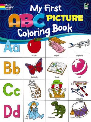 My First ABC Picture Coloring Book by Deb T. Bunnell