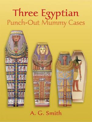 Nested Egyptian Punch-out Mummy Cases by A. G. Smith