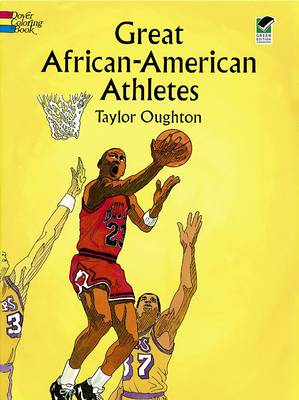 Great African-American Athletes Coloring Book by Taylor Oughton