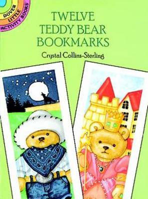Twelve Teddy Bear Bookmarks by Crystal Collins-Sterling