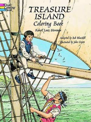 Treasure Island Colouring Book by Robert Louis Stevenson