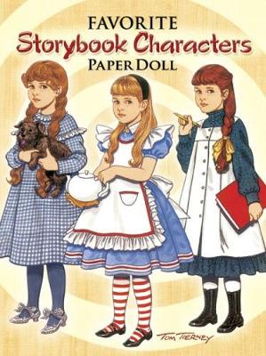 Favorite Storybook Characters Paper Doll by Tom Tierney