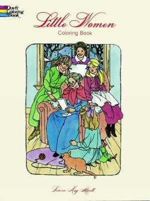 Little Women Coloring Book by Louisa May Alcott, Barbara Steadman