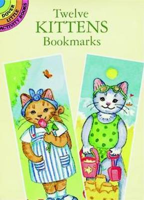 Twelve Kittens Bookmarks by Elizabeth Greenaway