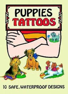 Puppies Tattoos by Cathy Beylon