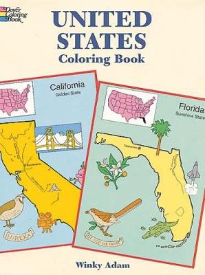 United States Coloring Book by W. Adam
