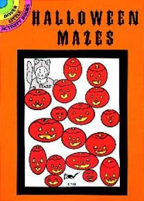 Halloween Mazes by Suzanne Ross