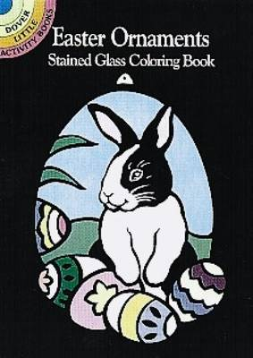 Easter Ornaments Stained Glass Coloring Book by Marty Noble