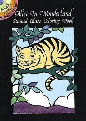 Alice in Wonderland Stained Glass C by Marty Noble