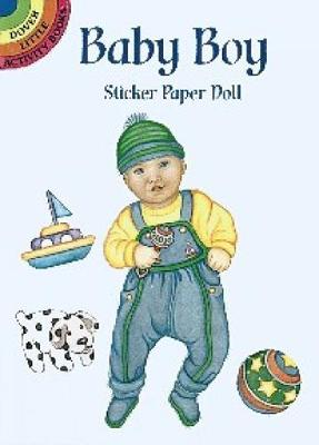 Baby Boy Sticker Paper Doll by Marty Noble
