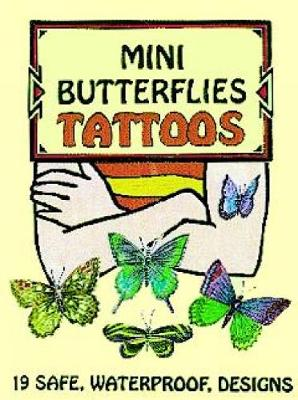 Mini Butterflies Tattoos by Jan Sovak