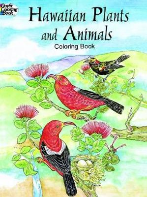 Hawaiian Plants and Animals Colouring Book by Yuko Green