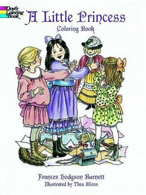 A Little Princess Coloring Book The Story of Sara Crewe by Frances Hodgson Burnett
