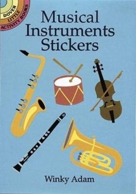 Musical Instruments Stickers by Winky Adam