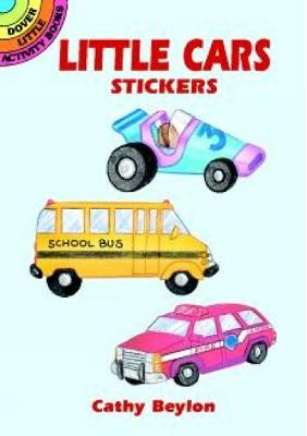 Little Cars Stickers by Cathy Belon
