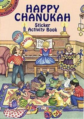 Happy Chanukah Sticker Activity Boo by NOBLE