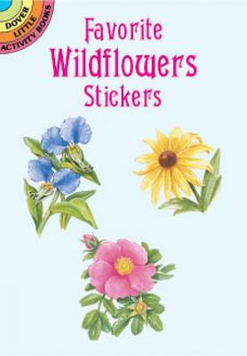 Favourite Wildflower Stickers by Dot Barlowe