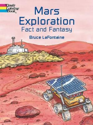 Mars Exploration Coloring Book by Bruce LaFontaine