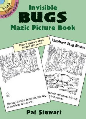 Invisible Bugs Magic Picture Book by Pat Stewart