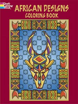 African Designs Coloring Book by Marty Noble