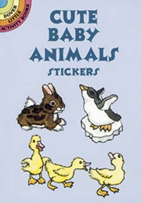 Cute Baby Animals Stickers by Nina Barbaresi