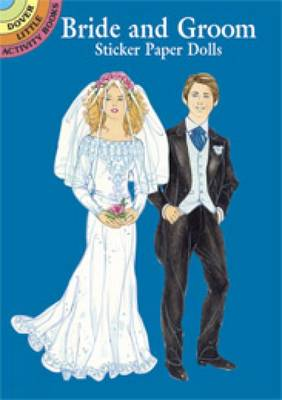 Bride and Groom Sticker Paper Dolls by Barbara Steadman
