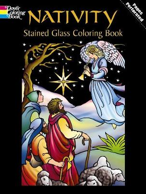 Nativity Stained Glass Coloring Book by Marty Noble