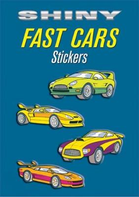 Shiny Fast Cars Stickers by Bruce LaFontaine