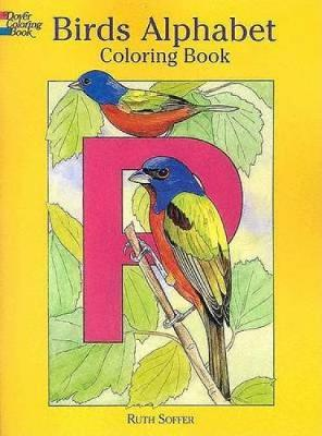 Birds Alphabet Coloring Book by Ruth Soffer