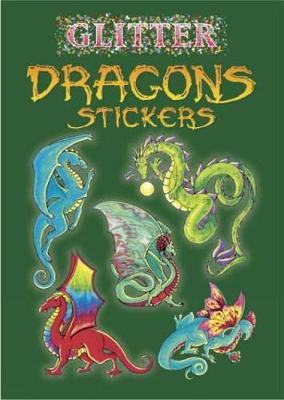 Glitter Dragons Stickers by Christy Shaffer