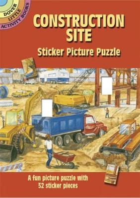 Construction Site Sticker Picture Puzzle by Steven James Petruccio