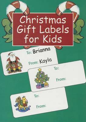Christmas Gift Labels for Kids by Nina Barbaresi