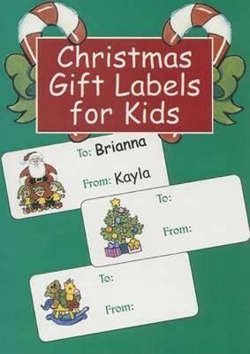 Christmas Gift Labels for Kids by Nina Barbaresi
