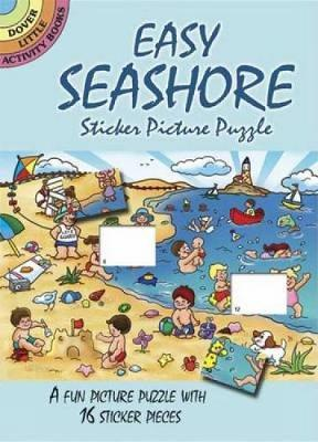 Easy Seashore Sticker Picture Puzzle by Robbie Stillerman