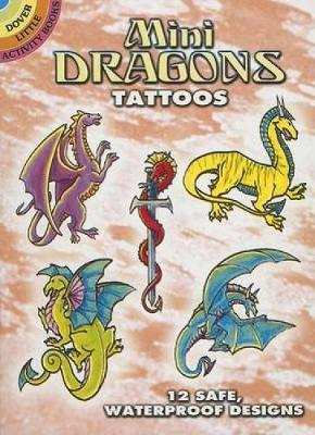 Mini Dragons Tattoos by Christy Shaffer