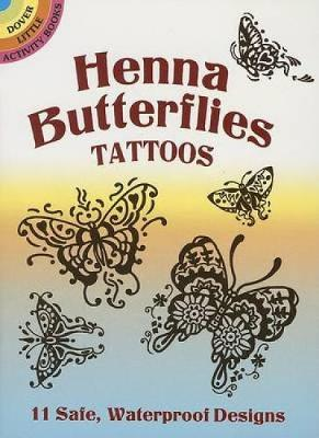 Henna Butterflies Tattoos by Anna Pomaska