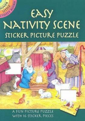 Easy Nativity Scene Sticker Picture Puzzle by Cathy Beylon
