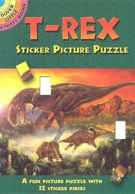T-Rex Sticker Picture Puzzle by Jan Sovak