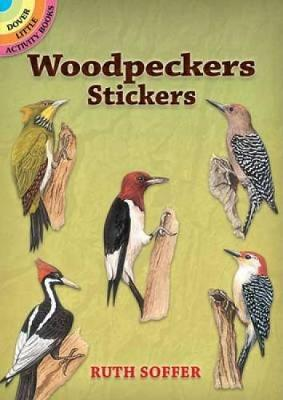 Woodpeckers Stickers by Ruth Soffer