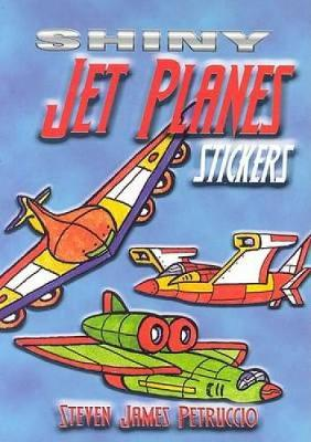 Shiny Jet Planes Stickers by Steven James Petruccio