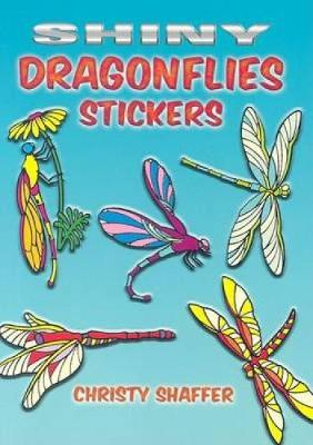 Shiny Dragonflies Stickers by Christy Shaffer