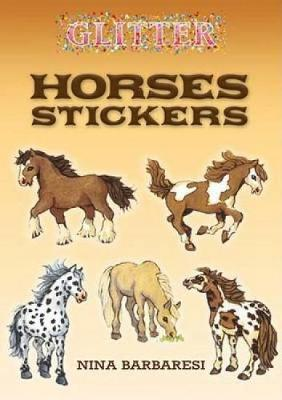 Glitter Horses Stickers by Nina Barbaresi