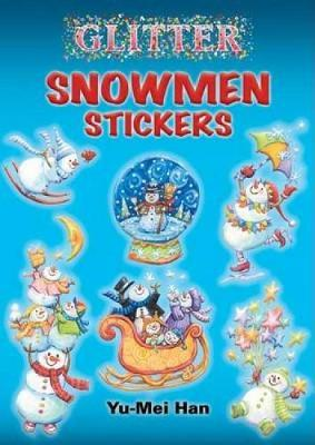 Glitter Snowmen Stickers by Yu-Mei Han