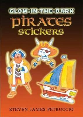 Glow-in-the-Dark Pirates Stickers by Steven James Petruccio
