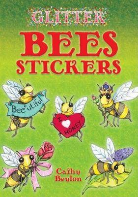 Glitter Bees Stickers by Cathy Beylon