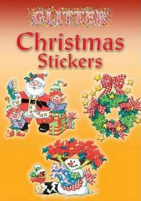 Glitter Christmas Stickers by Nina Barbaresi