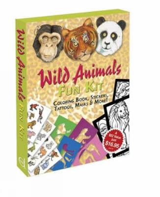 Wild Animals Fun Kit by Dover Publications Inc