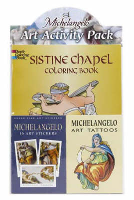Michelangelo Art Activity Pack by Dover Publications Inc